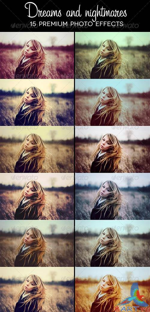 GraphicRiver Dreams and Nightmares - 15 Premium Photo Effects