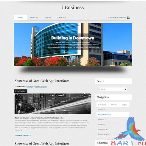 Dynamic CSS Templates - Ibusiness