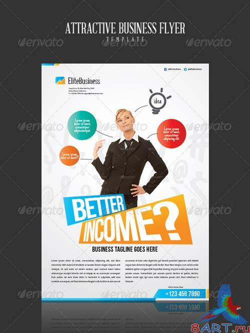 GraphicRiver Attractive Business Flyer Template
