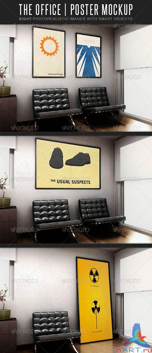 GraphicRiver The Office MockUp