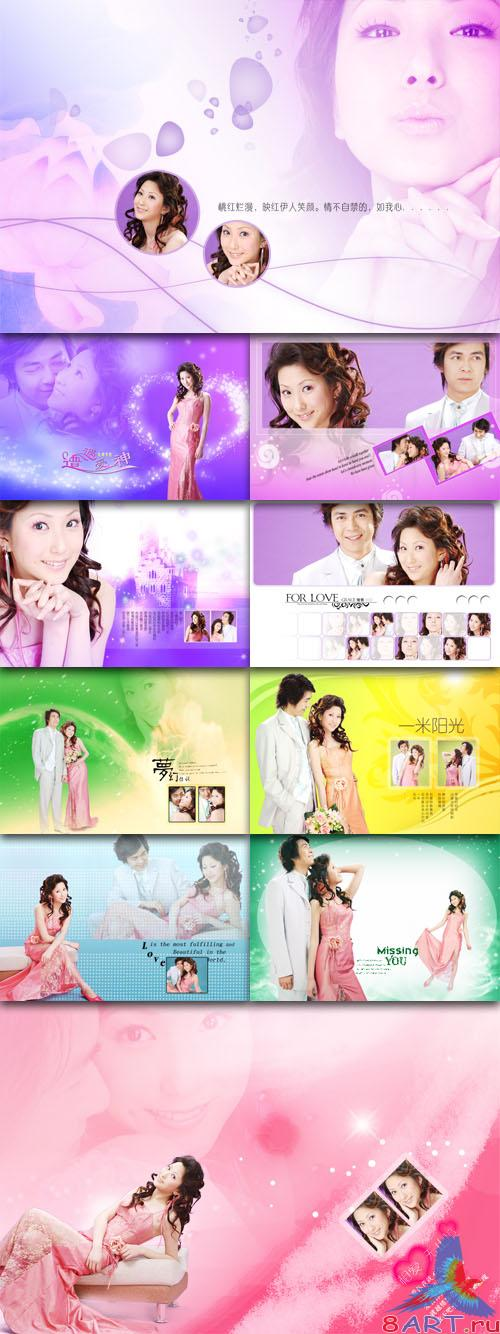 PhotoTemplates - Wedding Collection Vol.6 (77516)
