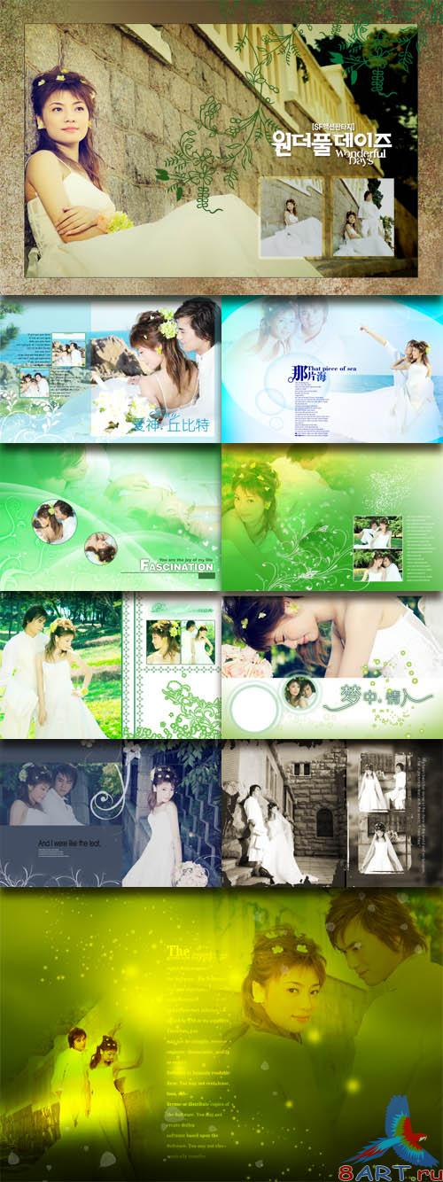 PhotoTemplates - Wedding Collection Vol.4 (77509)