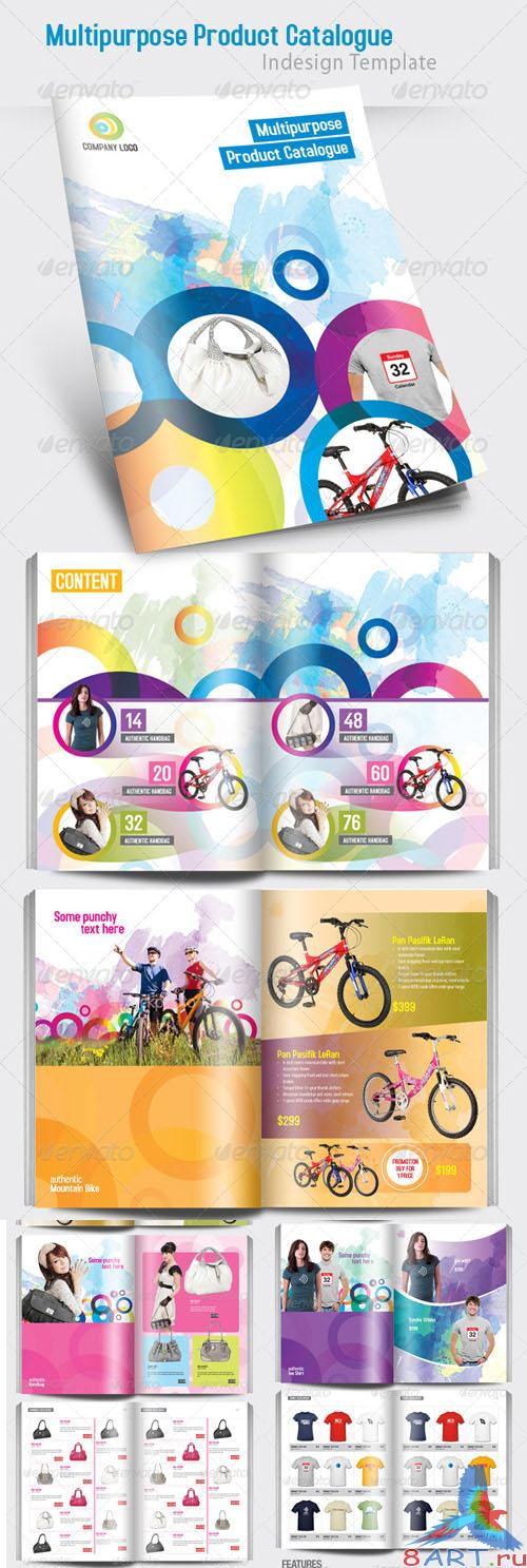 Multipurpose Product Catalogue Indesign Template - GraphicRiver