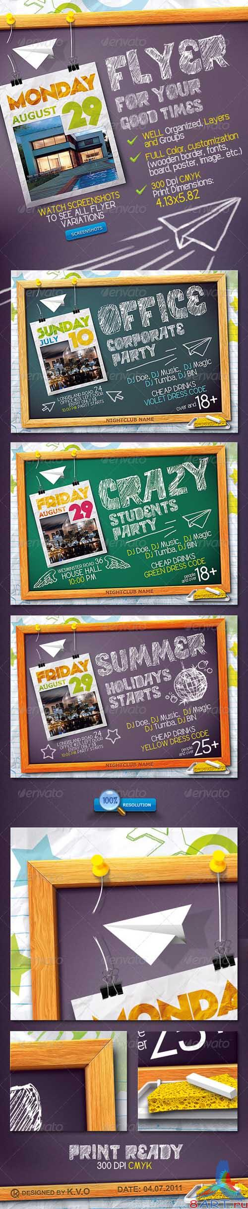 GraphicRiver Blackboard Flyer - REUPLOAD