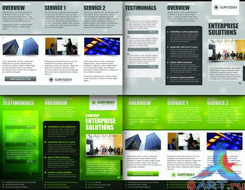 Corporate business brochures