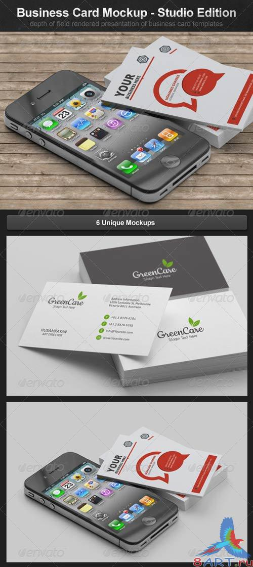 GraphicRiver Business Card Mockups - Studio Edition