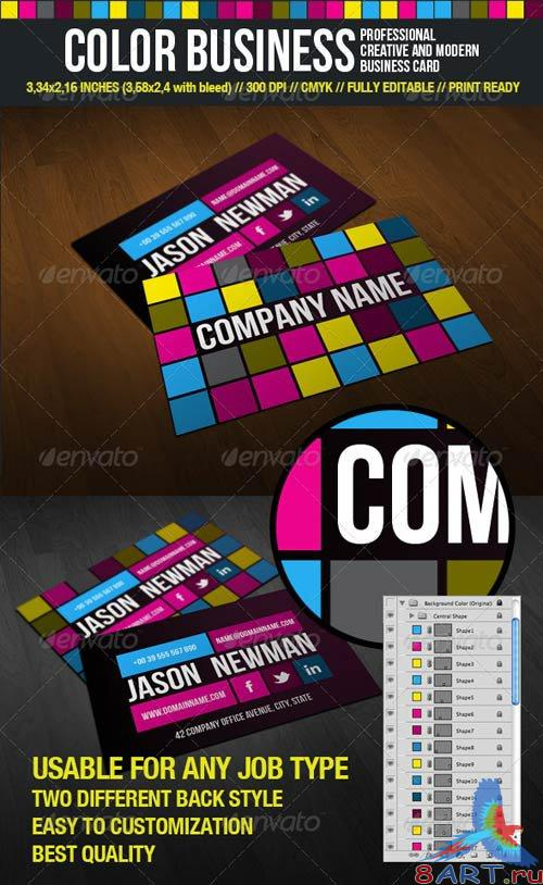 GraphicRiver Color Business