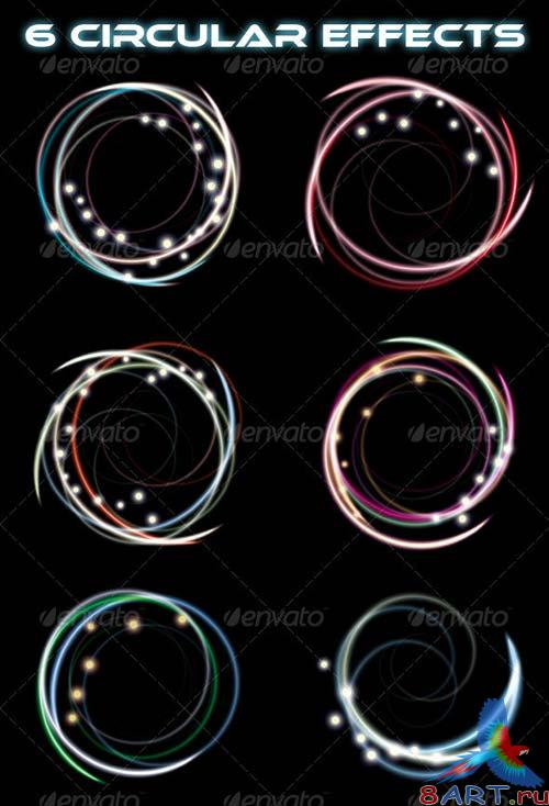 GraphicRiver 16 Premium Light Trail Effects