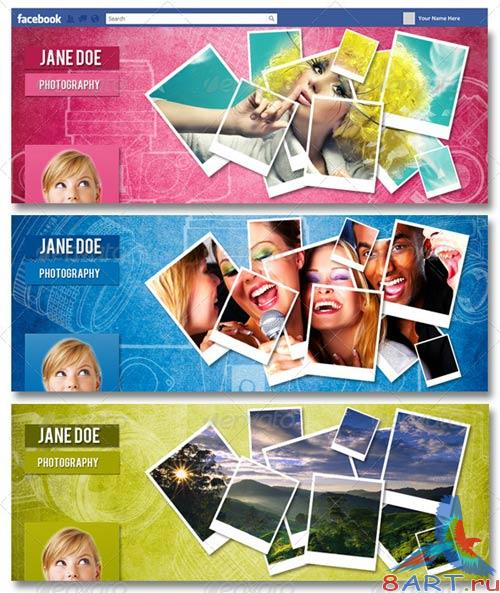 GraphicRiver Vibrant FB Timeline Cover - Volume 1