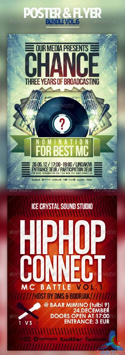 GraphicRiver - Poster & Flyer Bundle Vol.6 - 2550815
