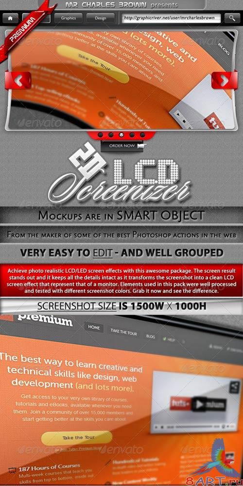 GraphicRiver Real 2D LCD Screenizer