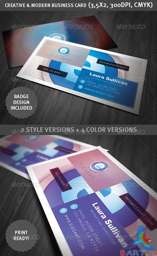 GraphicRiver Creative & Modern Business Card