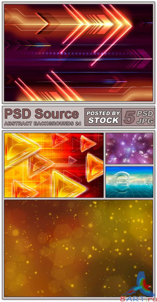 Layered PSD Files - Abstract backgrounds 24