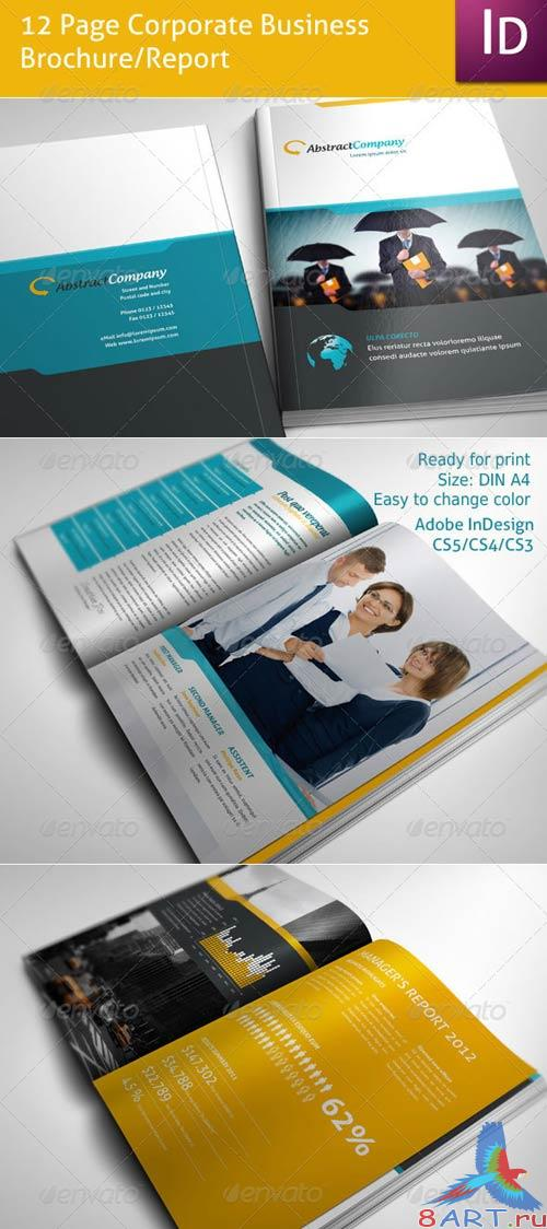 GraphicRiver 12 Page Business Brochure