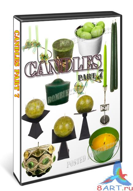 Candles part 7 / PSD
