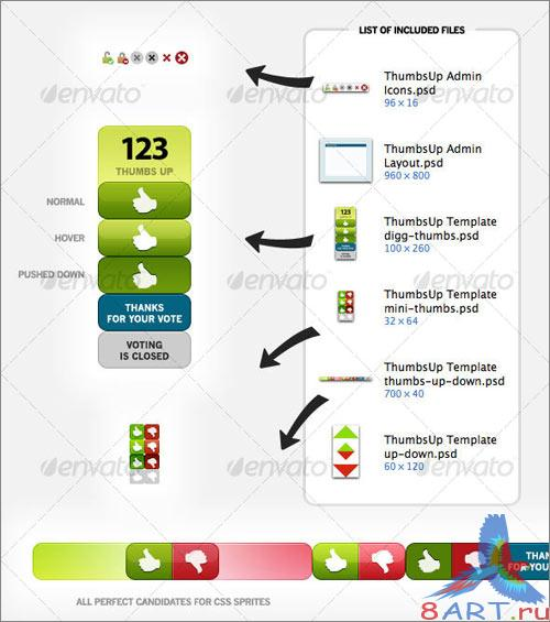 ThumbsUp Graphics - GraphicRiver
