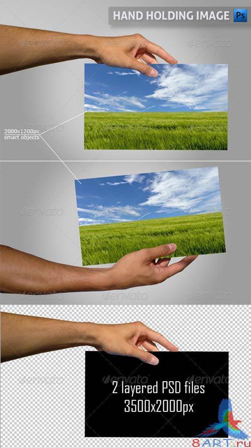 GraphicRiver Hand Holding Image
