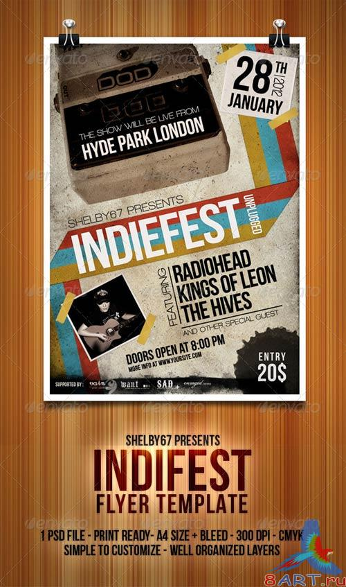 GraphicRiver Indiefest Flyer/Poster