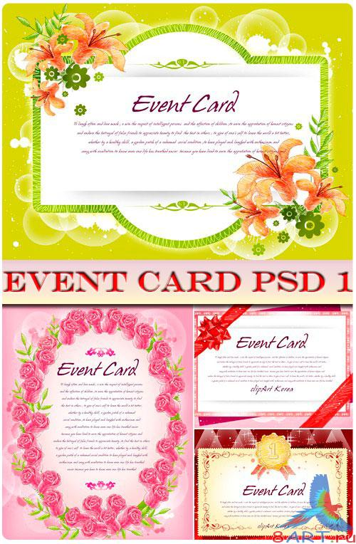 Event Card PSD 1
