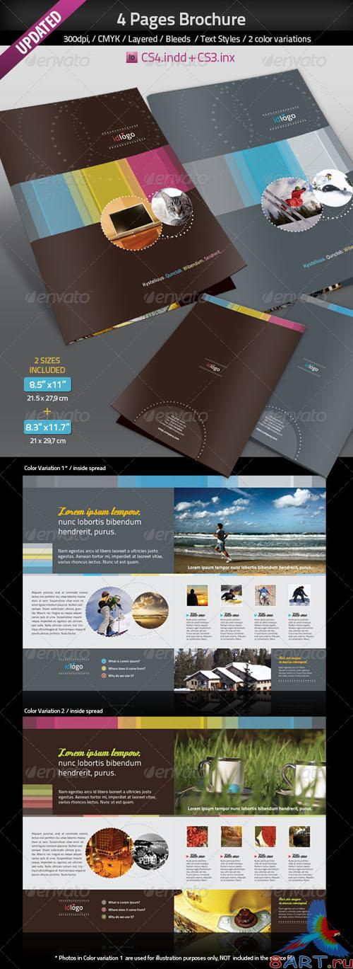 GraphicRiver - 4pages A4 Brochure UPDATED