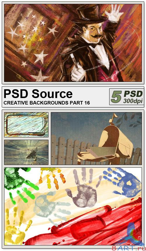 PSD Source - Creative backgrounds 16