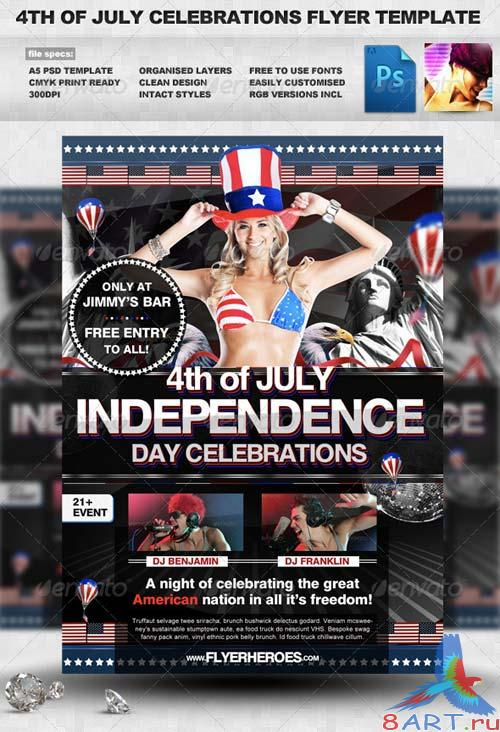 GraphicRiver 4th of July Flyer Template