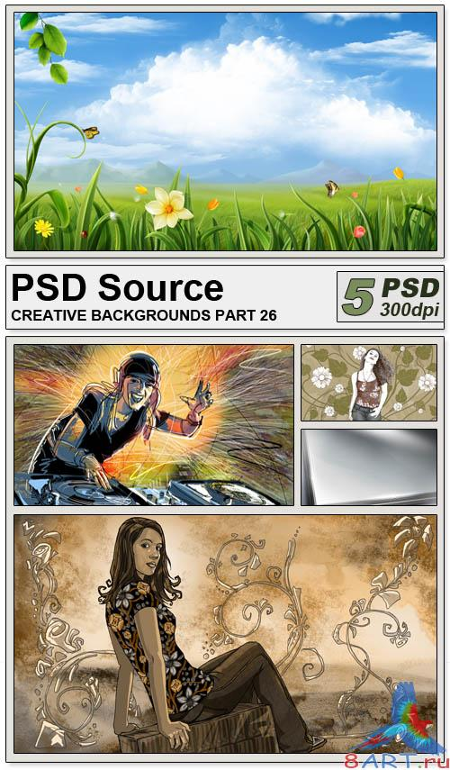 PSD Source - Creative backgrounds 26