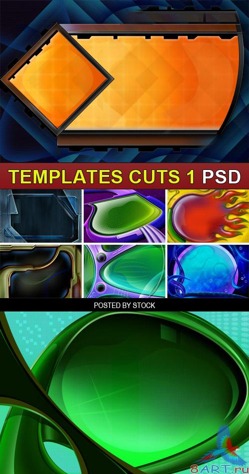 PSD Source - Templates cuts 1