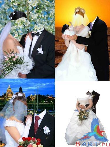 Свадебные Платья Фотомонтаж