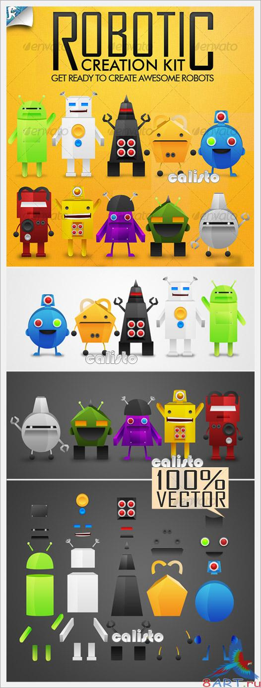 Robotic Creation Kit - Be a Mechanic - GraphicRiver