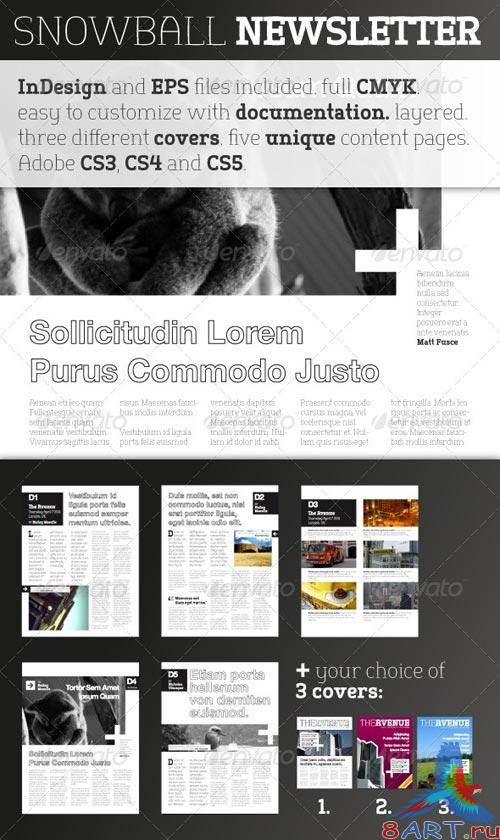GraphicRiver Snowball Newsletter Template