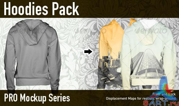 GraphicRiver Women's Hoodie Professional Mockup