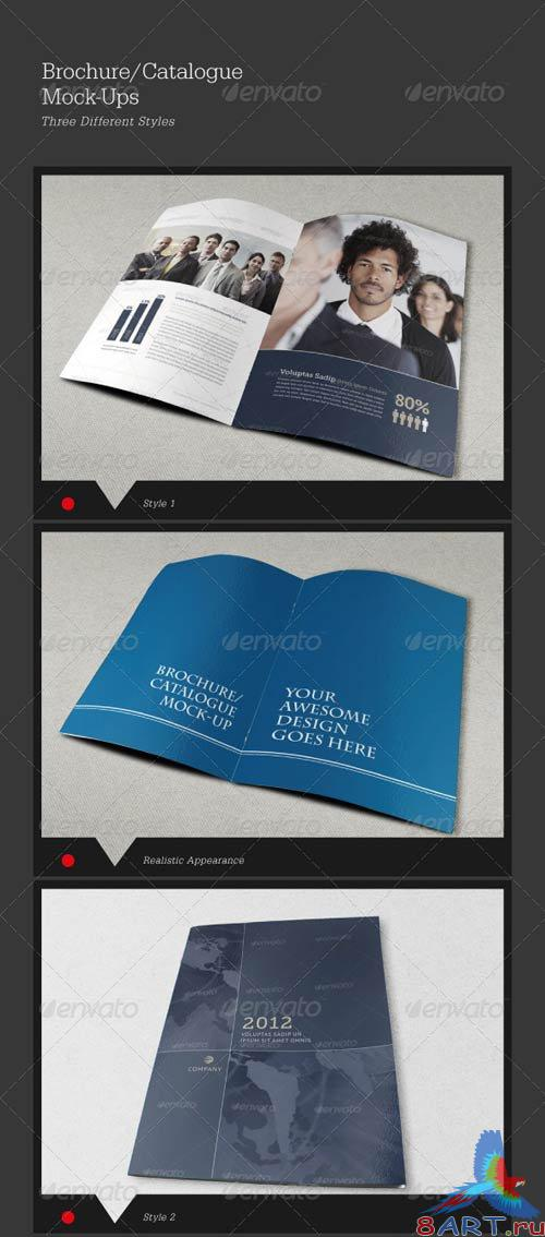 GraphicRiver Bi-Fold Brochure/Catalog Mock-Ups