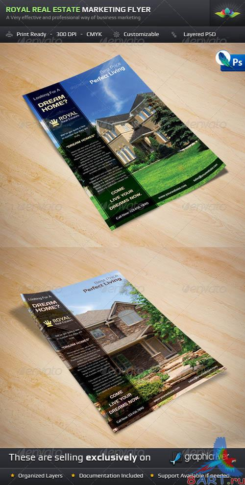 GraphicRiver Royal Real Estate Marketing Flyer