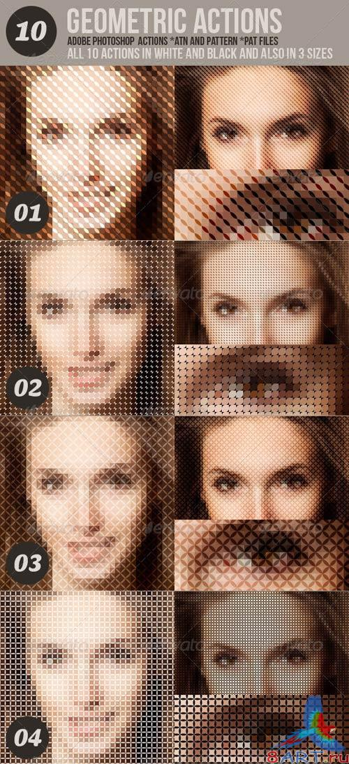 GraphicRiver 10 Geometric Photo Actions