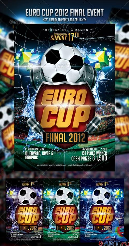 GraphicRiver Euro Cup Final 2012 Event Flyer