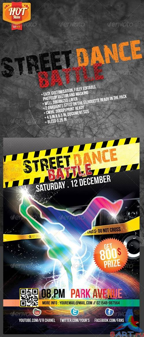 GraphicRiver Street Dance Battle