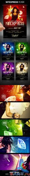 Nitexpress Party Flyer - GraphicRiver