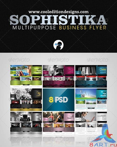 GraphicRiver Sophistika - Multipurpose Business Flyer