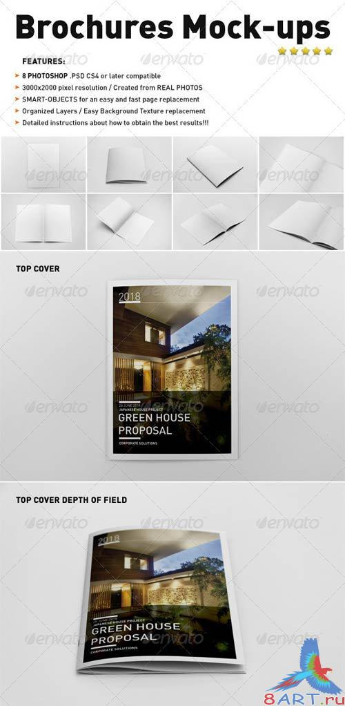 GraphicRiver Photorealistic Brochure Mock-ups