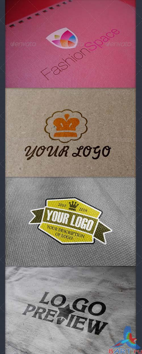 GraphicRiver 8 Styles Logo Preview Mock-ups