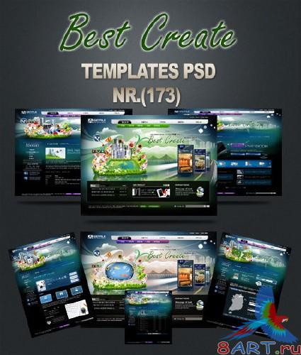 Best Create Black Templates PSD