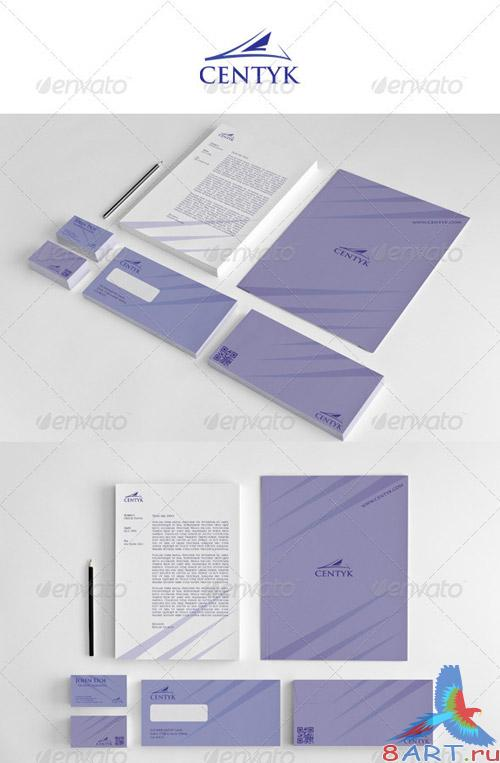 GraphicRiver Corporate Startioney Centyk