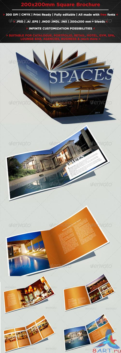Square Brochure / Booklet - GraphicRiver