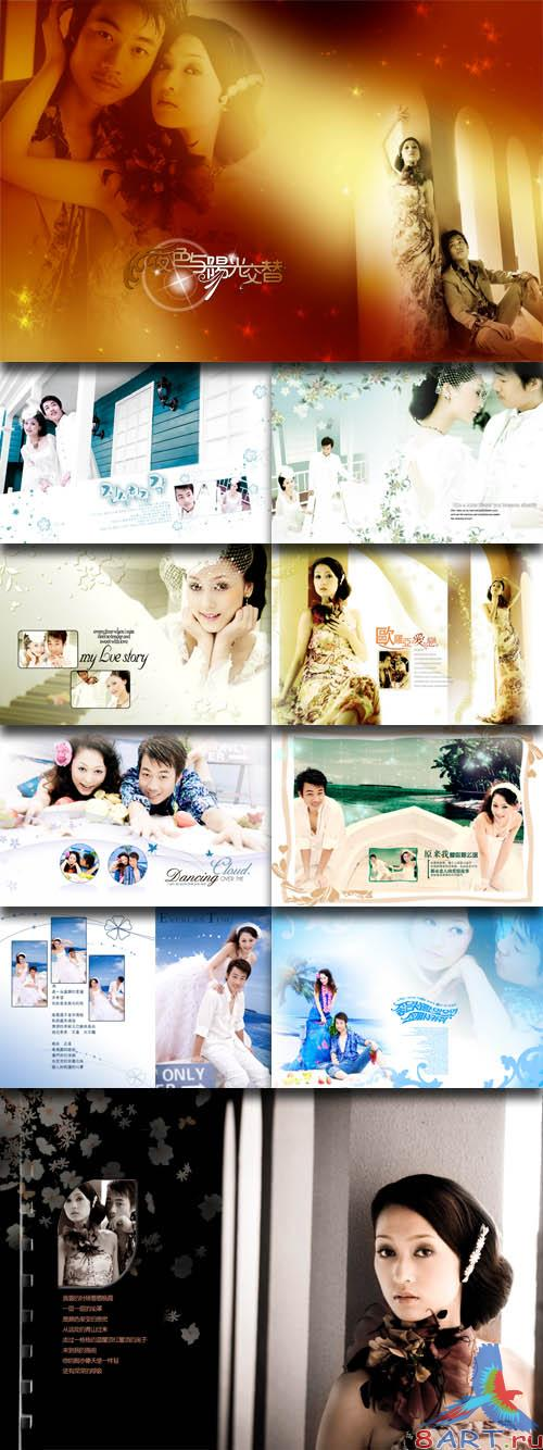 PhotoTemplates - Wedding Collection Vol.16 (77531)