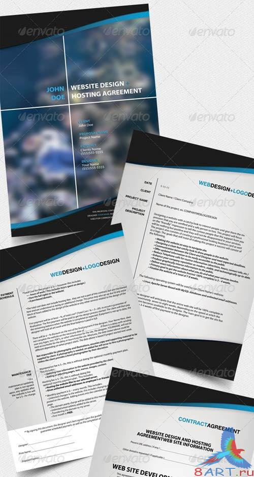 GraphicRiver Professional Business Cards and Proposal Pack