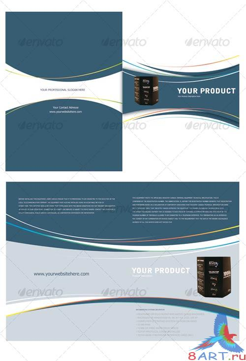 GraphicRiver Product Lunch Brochure