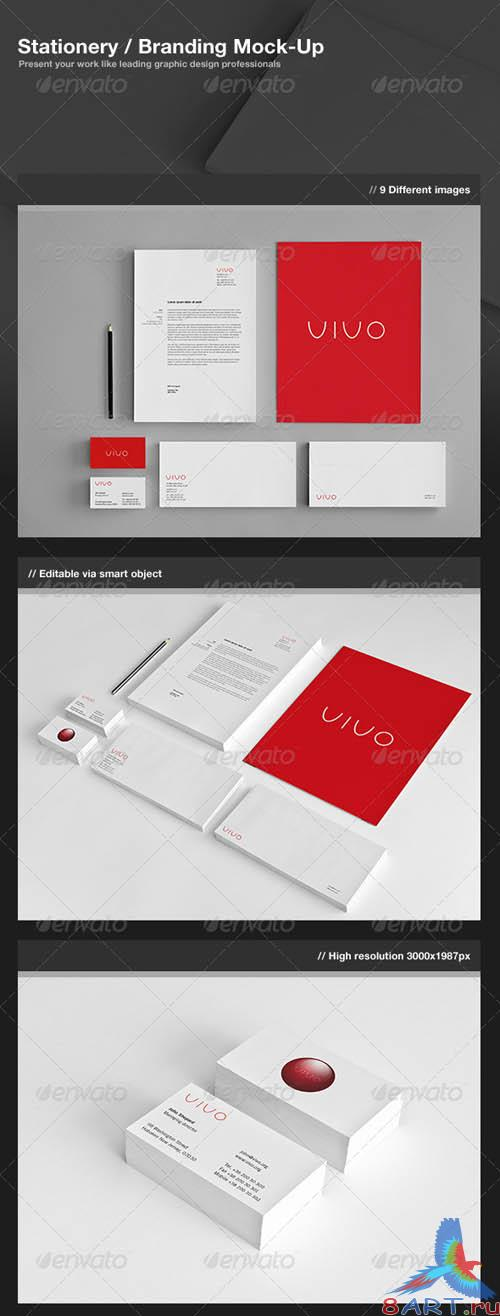 GraphicRiver Stationery / Branding Mock-Up