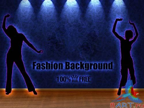 Fashion Background 1 (PSD with layers)