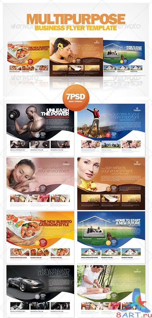 GraphicRiver Multipurpose Business Flyer Template